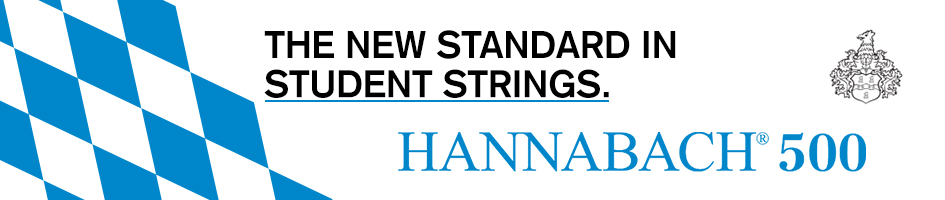 Hannabach 500 - The new standard in student strings